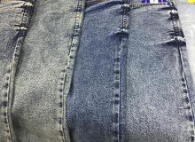 بناطير جينز درجة اولى باسعار مناسبة وبرمودات جينز لصاحبين المحلات والبصطيات