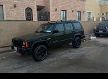 Green Jeep Cherokee 1998 for sale