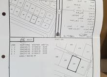 أرض سكنية بموقع ممتاز وسط حي سكني للبيع - البريك الخابورة