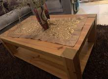طاولة صالون للبيع ب250 لوح زان