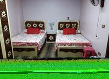 ((بسموحه)) شقه غرفين للإيجار بالفرش والأجهزة