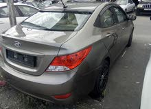 Automatic Black Hyundai 2014 for sale