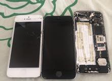 تليفون ايفون 5sو 5عادي قطع غيار