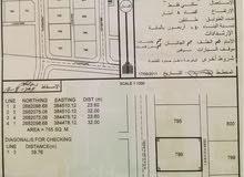 أرض سكنية للبيع في البريمي حي النفحات