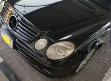 مرسيديس E500 2003 فل ابشين وارد اليابان