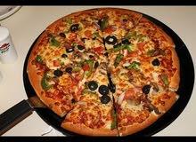 اسطي بيتزا خبره خمسة عشر سنه