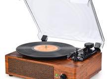 Vinyl Record Player Turntable Bluetooth