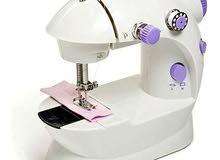 ماكينة خياطة كهربائية صغيرة أبيض/أزرق/أسود/أصفر
