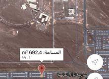 خلف جامعة البريمي زاويه ثاني صفه مساحتها تقريبا 700 متر