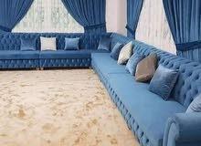 Sofa majlish making sofa clothes changing service pls call /