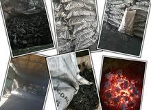 فحم أفريقي طبيعي وفحم مضغوط وحطب افريقي