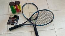 مضارب تنس دانلوب بحالة ممتازة