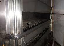 شوايه فحم للبيع عرض 3،5 متر استلس محمل  وزنه طن ونص