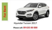 Car For Rent in Khartoum: Tucson 2017