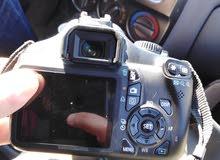 كاميرة كانون 1100D استعمال نضيف شبه جديدة