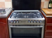 Italian 5 Gas Burner with Oven and Cylinder