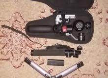 كاميرا و عصى الكاميرا و قاعده تثبيت