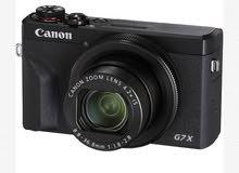 كاميرة كانون شبه جديده
