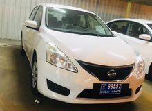 Nissan Tiida 2014 For sale - White color