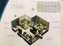 شقة غرفة وصالة للبيع