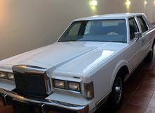 For sale 1979 White Town Car