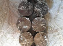 يوجد 100 عملة نقدية لبنانية قديمة (الليرة ) للبيع