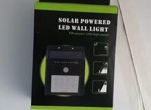 فلاش ليد بالطاقة الشمسية في الصبح يشحن وفي الليل لو تحرك حد يولع الضي نظام حماية