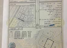 ارض للبيع مساحه الارض 630  الموقع بركاء حي عاصم خلف المواشي تقريبا 250 متر
