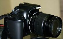 كاميرا كانون للبيع مع عدستين