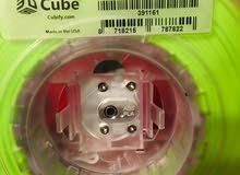 محابر طابعة 3D-cube (لون أبيض -أخضر  مضيء