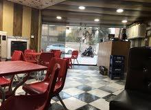 كوفي شوب كامل للبيع مع الغراض كامل المكان شارع فلسطين قرب جامعه الرافدين