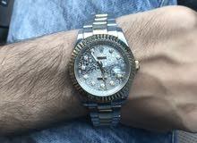 ساعة رولكس اصليه للبيع