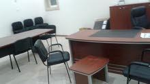 مكتب مساحة6*7 مجهز ومعه بدروم 200متر