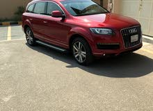 Audi Q7 2014 For sale - Red color