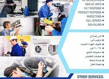 A,C - freezer, Washing machine repair