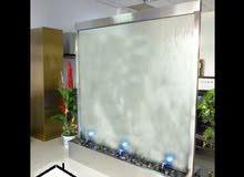 شلالات زجاج حراري وشلالات ثلاثية الابعاد للبيع