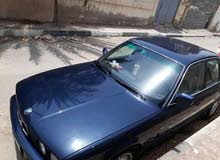 Blue BMW 525 1991 for sale