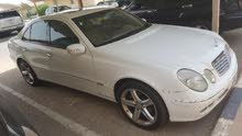 Available for sale! +200,000 km mileage Mercedes Benz E 240 2003