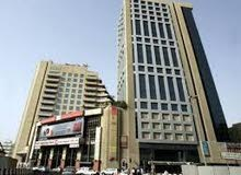 AED 25000-55000. SERVICED OFFICES. AL MUSALLA TOWERS. BURJUMAN-FAHIDI METRO STATIONS. DIRECT OWNER