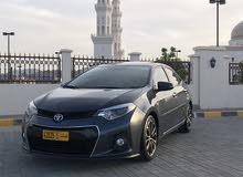 For sale 2015 Grey Corolla