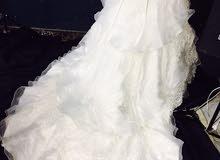 فستان عروسه تصميم لبناني للبيع