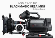 black magic ursa mini 4k EF