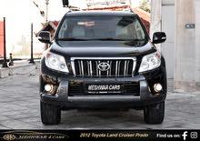 Available for sale! 1 - 9,999 km mileage Toyota Prado 2012