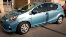 Renting Toyota cars, Prius C 2014 for rent in Amman city