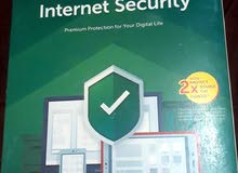 (نسخة أصلية) برنامج كاسبرسكاي انترنت سكيورتي للحماية متكامل (إقرأ الوصف)