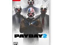 Payday2 for nintendo switch للبيع