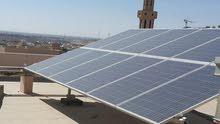 طاقة شمسية نظام اوف قريد للبيع مع كامل العده