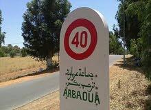 ارض 2000متر بما فيها السكن في فلاج عرباوة