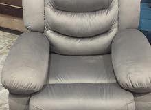 كرسى ليزى بوى من شركه جومانة للأثاث العصرى مصنوع من أجود الخامات قماش جاجور ميكا