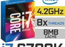 معالج Intel Core i7 6700k 4.2GHz